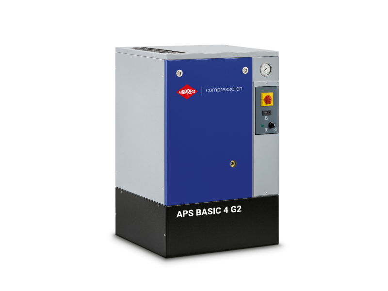 Schroefcompressor APS 4 Basic G2 10 bar 4 pk/3 kW 366 l/min