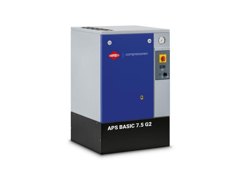 Schroefcompressor APS 7.5 Basic G2 10 bar 7.5 pk/5.5 kW 780 l/min
