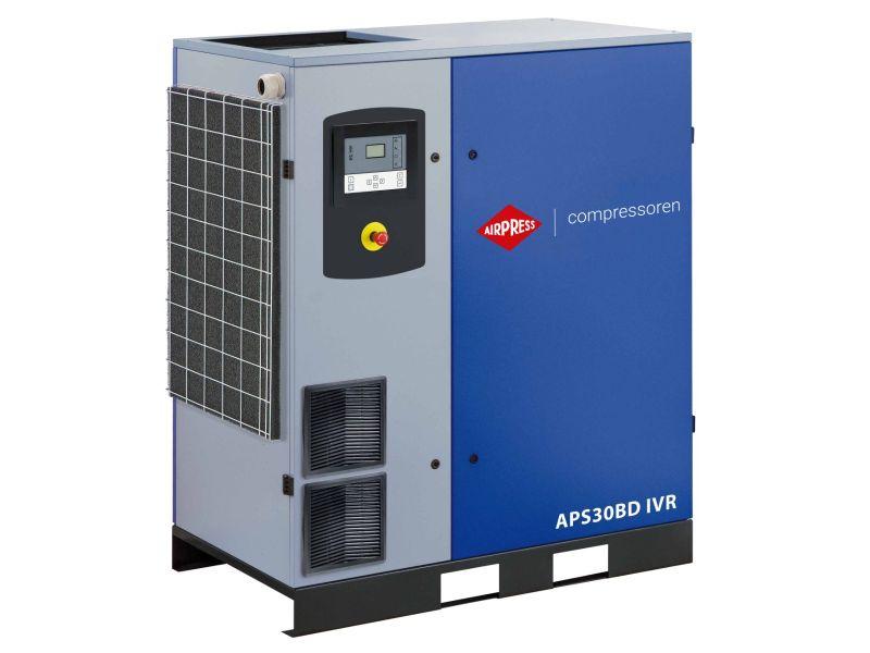 Schroefcompressor APS 30BD IVR 13 bar 30 pk/22 kW 770-4170 l/min