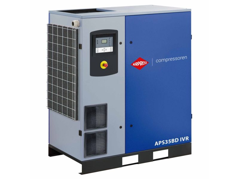 Schroefcompressor APS 35BD IVR 13 bar 35 pk/26 kW 770-4835 l/min