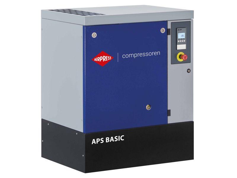 Schroefcompressor APS 15 Basic 8 bar 15 pk/11 kW 1620 l/min
