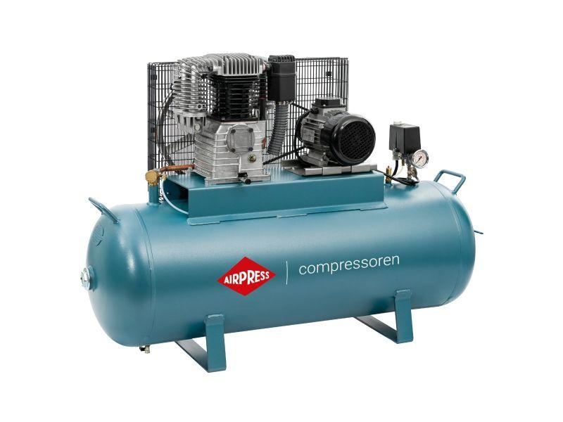Compressor K 200-600 14 bar 4 pk/3 kW 360 l/min 200 l