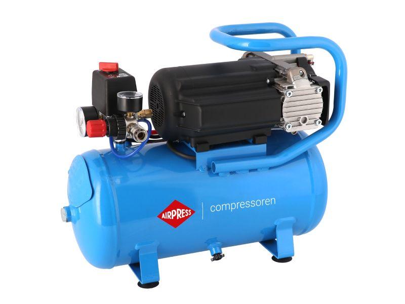 Stille Olievrije Compressor LMO 15-210 8 bar 0.75 pk/0.55 kW 168 l/min 15 l