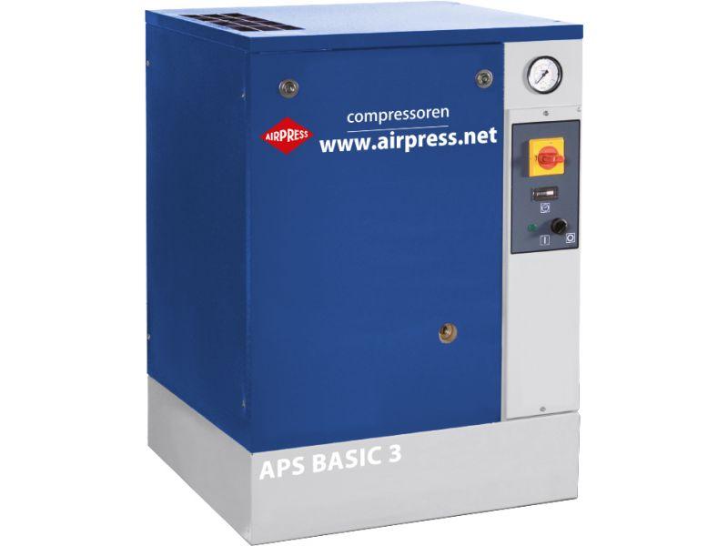 Schroefcompressor APS 3 Basic 10 bar 3 pk 240 l/min