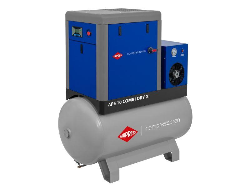 Schroefcompressor APS 10 Combi Dry X 10 bar 10 pk/7.5 kW 920 l/min 500 l