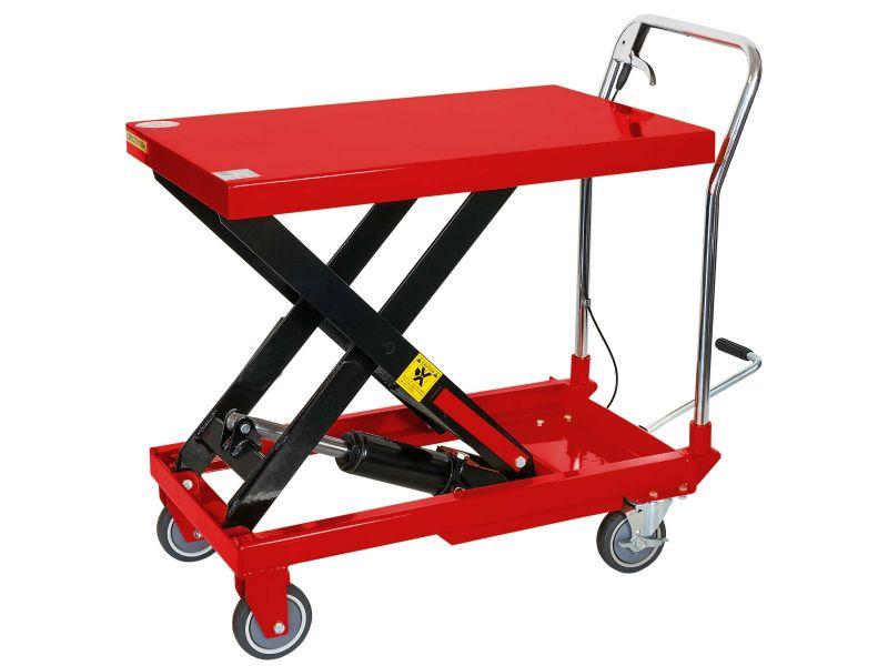Verrijdbaar hydraulische heftafel 150 kg