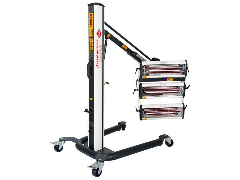 Infraroodverfdroger 3x1000 W met afstandssensor