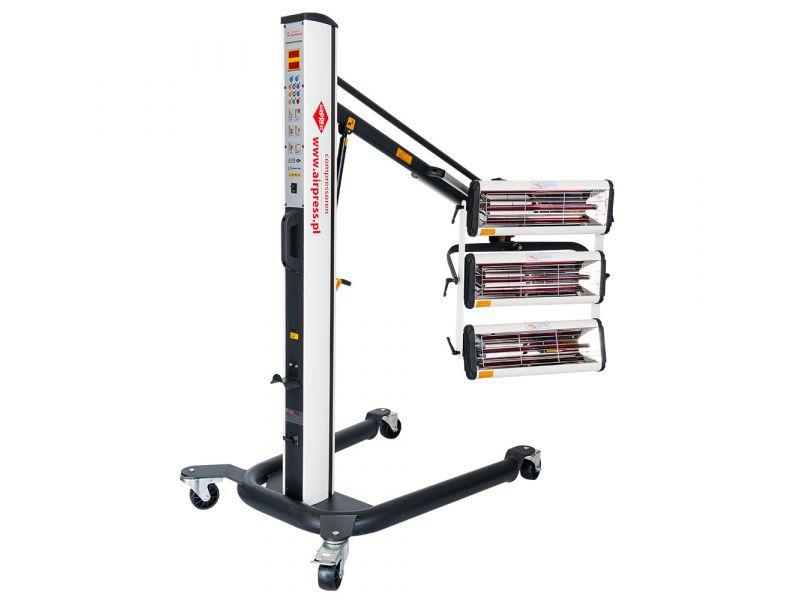 Infraroodverfdroger 3x1000 W