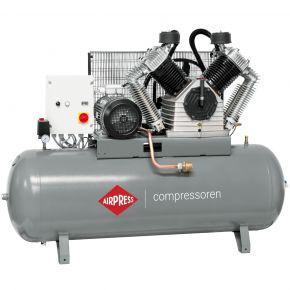 Compressor HK 2500-500 SD Pro 11 bar 20 pk/15 kW 1700 l/min 500 l ster-driehoek schakelaar