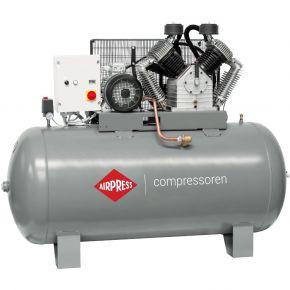 Compressor HK 2000-900 SD Pro 11 bar 15 pk/11 kW 1395 l/min 900 l ster-driehoek schakelaar