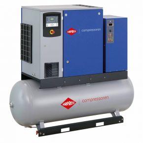 Schroefcompressor APS 10DD IVR Combi Dry 12.5 bar 10 pk/7.5 kW 270-1225 l/min 500 l