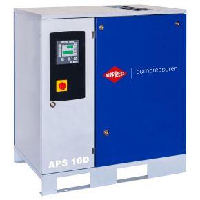 Schroefcompressor APS 10D 8 bar 10 pk/7.5 kW 1153 l/min