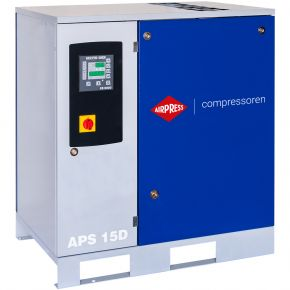 Schroefcompressor APS 15D 13 bar 15 pk/11 kW 1210 l/min