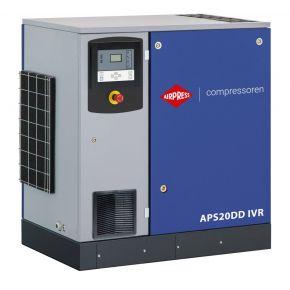 Schroefcompressor APS 20DD IVR 12.5 bar 20 pk/15 kW 258-2290 l/min