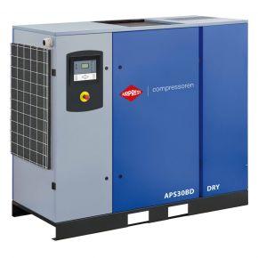 Schroefcompressor APS 30BD Dry 10 bar 30 pk/22 kW 3320 l/min