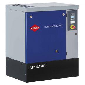 Schroefcompressor APS 7.5 Basic 10 bar 7.5 pk/5.5 kW 690 l/min