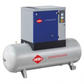 Schroefcompressor APS 7.5 Basic Combi 8 bar 7.5 pk/5.5 kW 846 l/min 500 l
