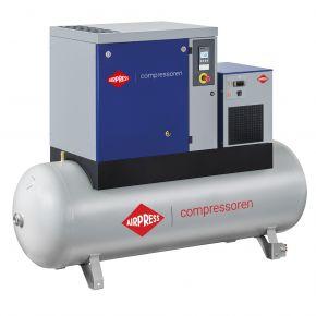 Schroefcompressor APS 7.5 Basic Combi Dry 8 bar 7.5 pk/5.5 kW 846 l/min 500 l
