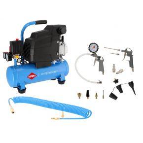 Compressor H 185-6 8 bar 1.5 pk/1.1 kW 75 l/min 6 l Plug & Play