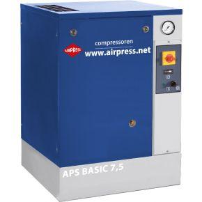 Schroefcompressor APS 7.5 Basic 10 bar 7.5 pk 600 l/min