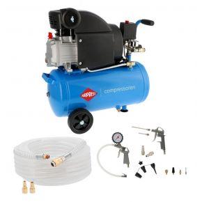 Compressor HL 310-25 8 bar 2 pk/1.5 kW 157 l/min 24 l Plug & Play