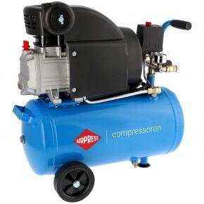 Compressor HL 310-25 8 bar 2 pk/1.5 kW 157 l/min 24 l