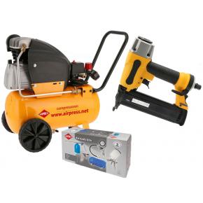 Compressor HL 360-25 10 bar 2.5 pk 240 l/min 24 l Plug & Play