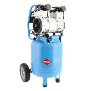 Stille Olievrije Compressor LMVO 40-250 8 bar 2 pk/1.5 kW 150 l/min 38 l