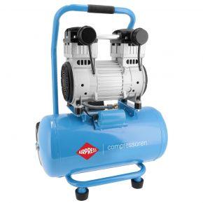 Stille olievrije compressor LMO 25-250 8 bar 2 pk/1.5 kW 150 l/min 24 l