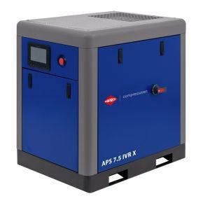 Schroefcompressor APS 7.5 IVR X 10 bar 7.5 pk/5.5 kW 170-690 l/min