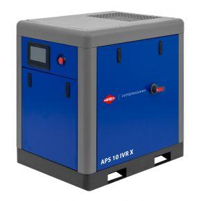 Schroefcompressor APS 10 IVR X 10 bar 10 pk/7.5 kW 270-950 l/min