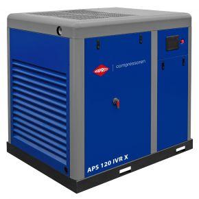 Schroefcompressor APS 120 IVR X 10 bar 120 pk/90 kW 3540-13180 l/min