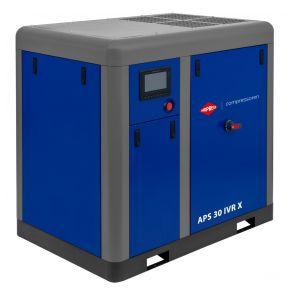 Schroefcompressor APS 30 IVR X 10 bar 30 pk/22 kW 730-2950 l/min