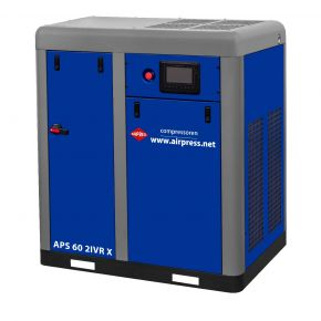 Schroefcompressor APS 60 2IVR X 10 bar 60 pk/45 kW 3010-7710 l/min