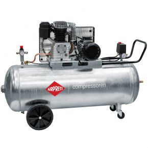 Compressor G 600-200 Pro 10 bar 4 pk/3 kW 380 l/min 200 l verzinkt