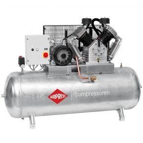 Compressor G 2000-500 SD Pro 11 bar 15 pk/11 kW 1395 l/min 500 l verzinkt