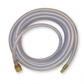 Luchtslang PVC gevlochten nylon Euro 8 x 13 mm 20 m 20 bar