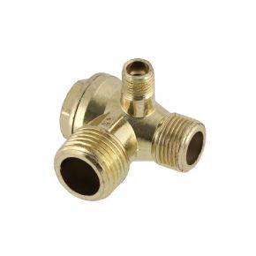 Check valve in blister