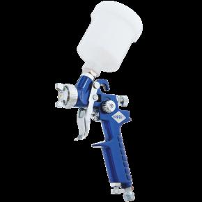 Mini Verfspuit HVLP 2 bar 1.8 mm nozzle 125 ml beker