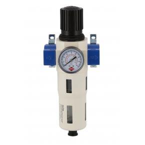 """Olie-/Waterafscheider en Reduceerventiel 1/2"""" 15 bar"""