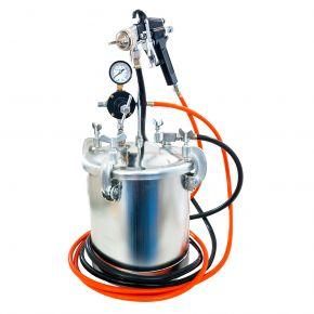 Verfspuit unit 5.5 bar 2 mm nozzle 8.5 l beker