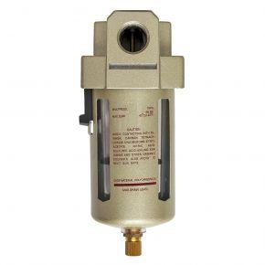 """Olie-/Waterafscheider 1/2"""" 10 bar 25 micron"""