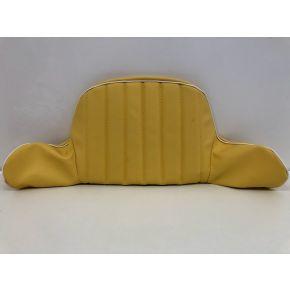 Hedo hoes voor rugleuning geel