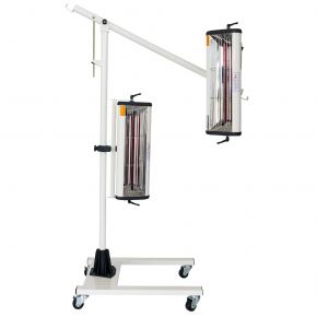 Infraroodverfdroger 2x1000 W