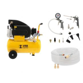 Compressor LC 24-1.5 VRB 8 bar 1.5 pk/1.1 kW 125 l/min 24 l Plug & Play