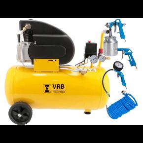 Compressor LC50-2.0 VRB 8 bar 1.5 pk/1.1 kW 138 l/min 50 l Plug & Play
