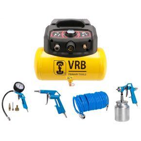 Compressor 8LC6-1.5 VRB 8 bar 1.5 pk 129 l/min 6 l Plug & Play