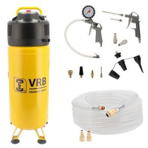 Compressor 8LCV50-2.0 VRB 10 bar 2 pk/1.5 kW 166 l/min 50 l Plug & Play