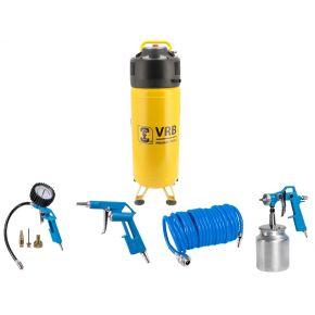 Compressor LCV50-2.0 VRB 10 bar 2 pk/1.5 kW 166 l/min 50 l Plug & Play