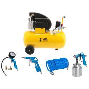 Compressor 8LC50-2.0 VRB 8 bar 2 pk 160 l/min 50 l Plug & Play